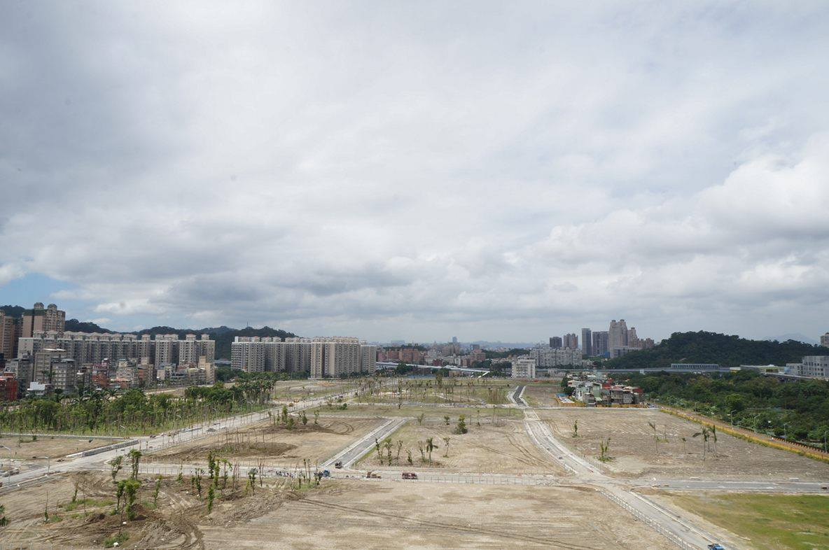 中央新村北案目前已在整地階段 圖為施工狀況。攝影/劉羽恒
