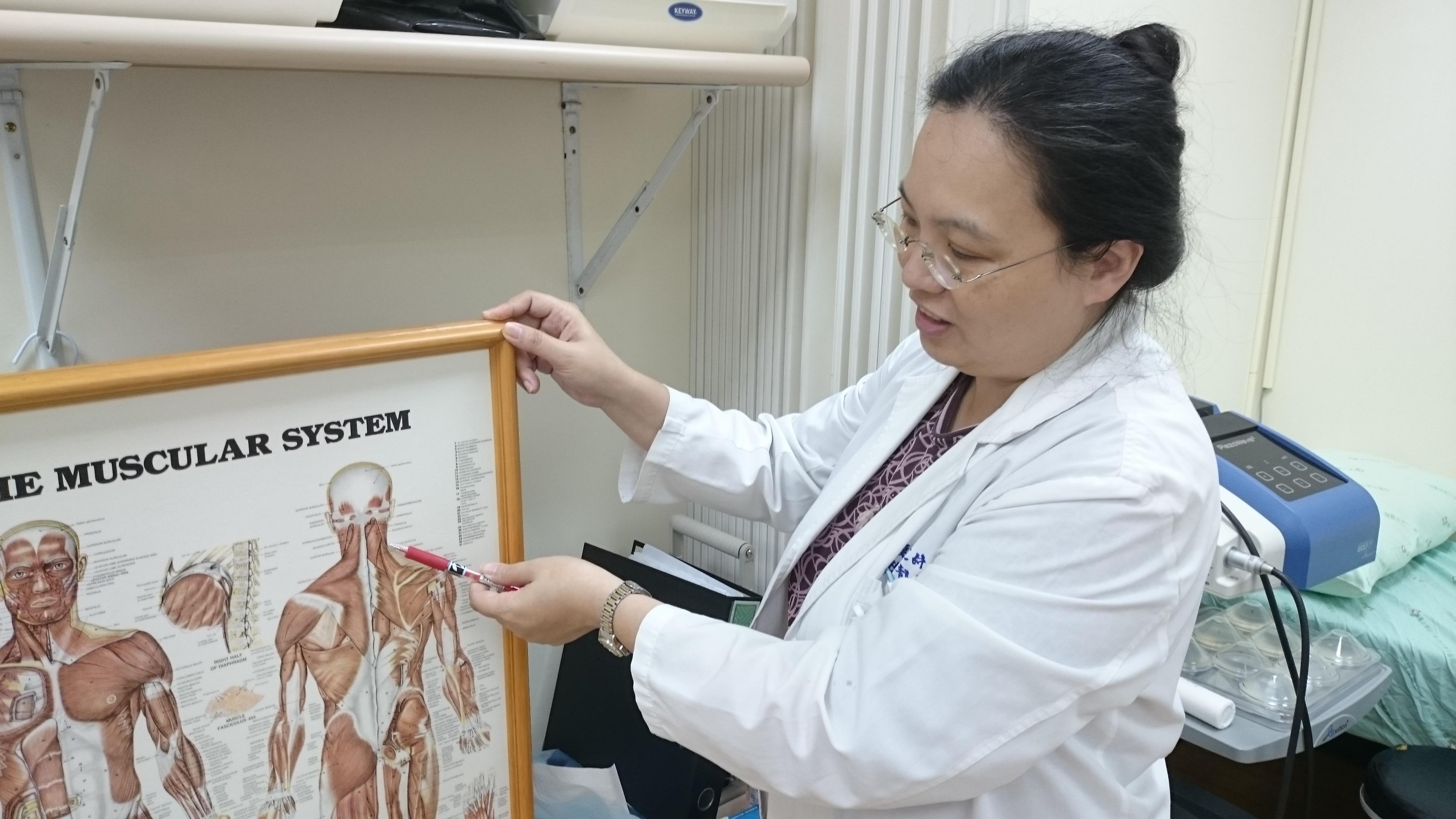 台北市立萬芳醫院復健醫學部主治醫師魏靚華