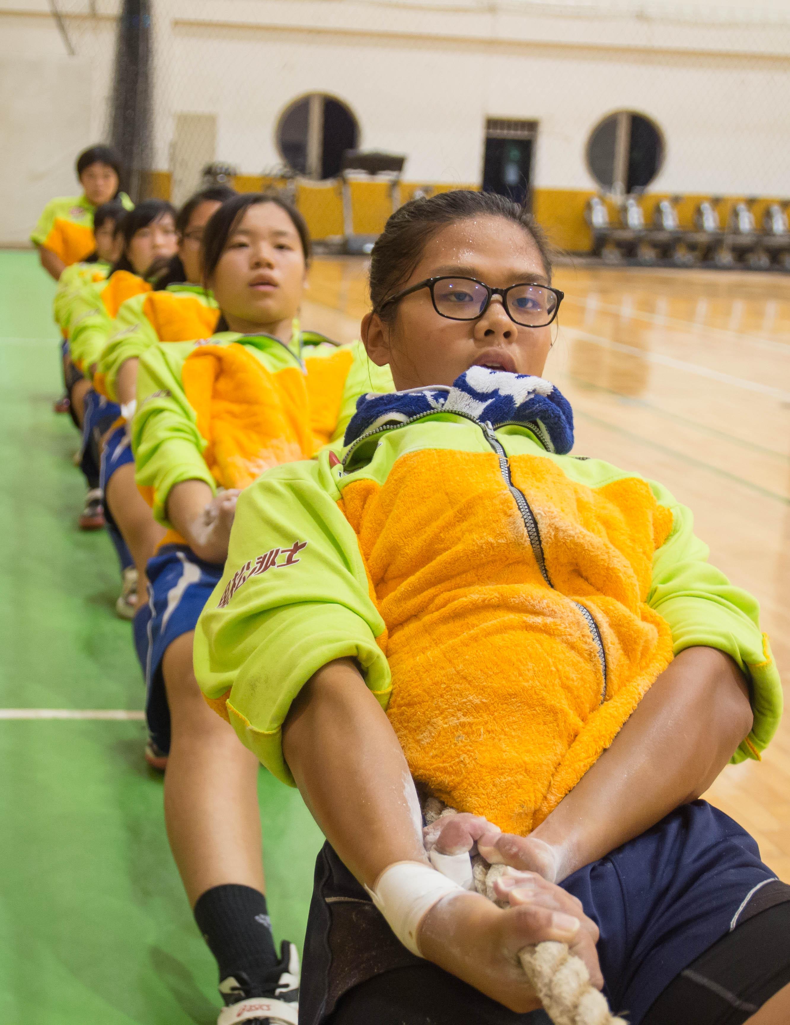 景美師大拔河聯隊於2016世界盃贏得金牌,回國後又開始密集訓練為下場比賽努力。