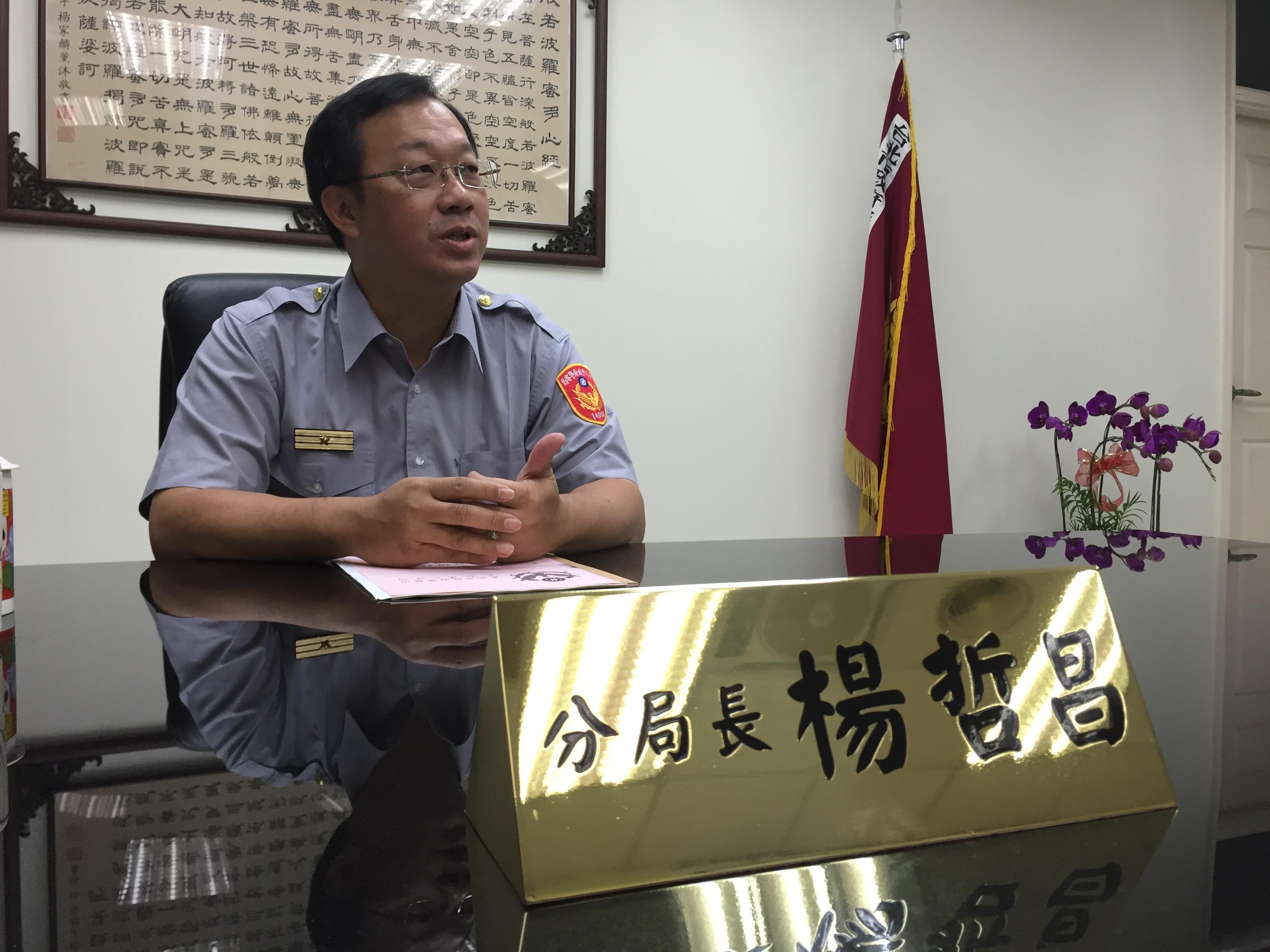 文山第二分局長表示,整合案是精用內務警力,增加外勤。攝影/布子如