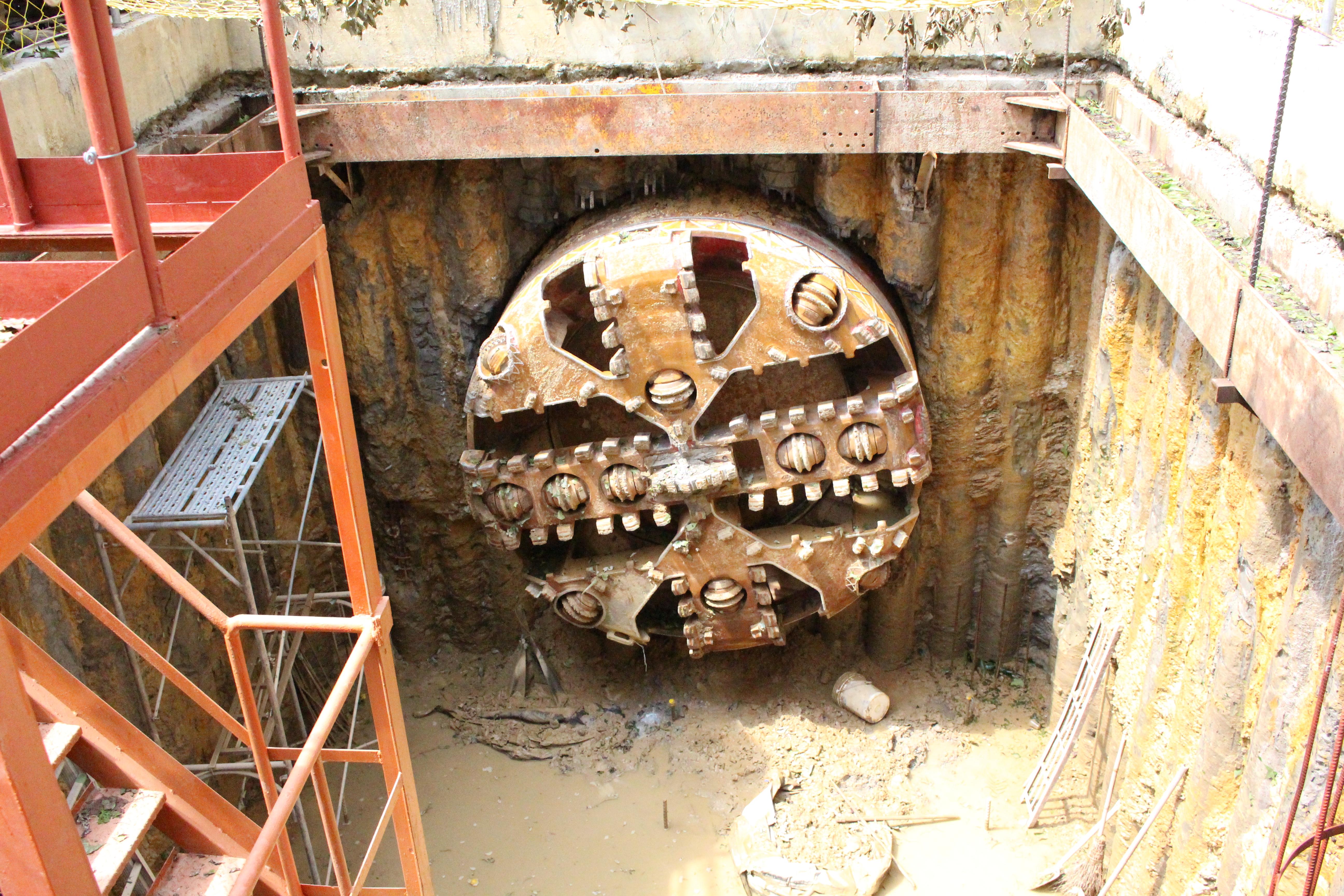 地底涵管將連接福興路與興隆路一段,成為福興路的重要疏洪設施。(攝影/謝孟儒)