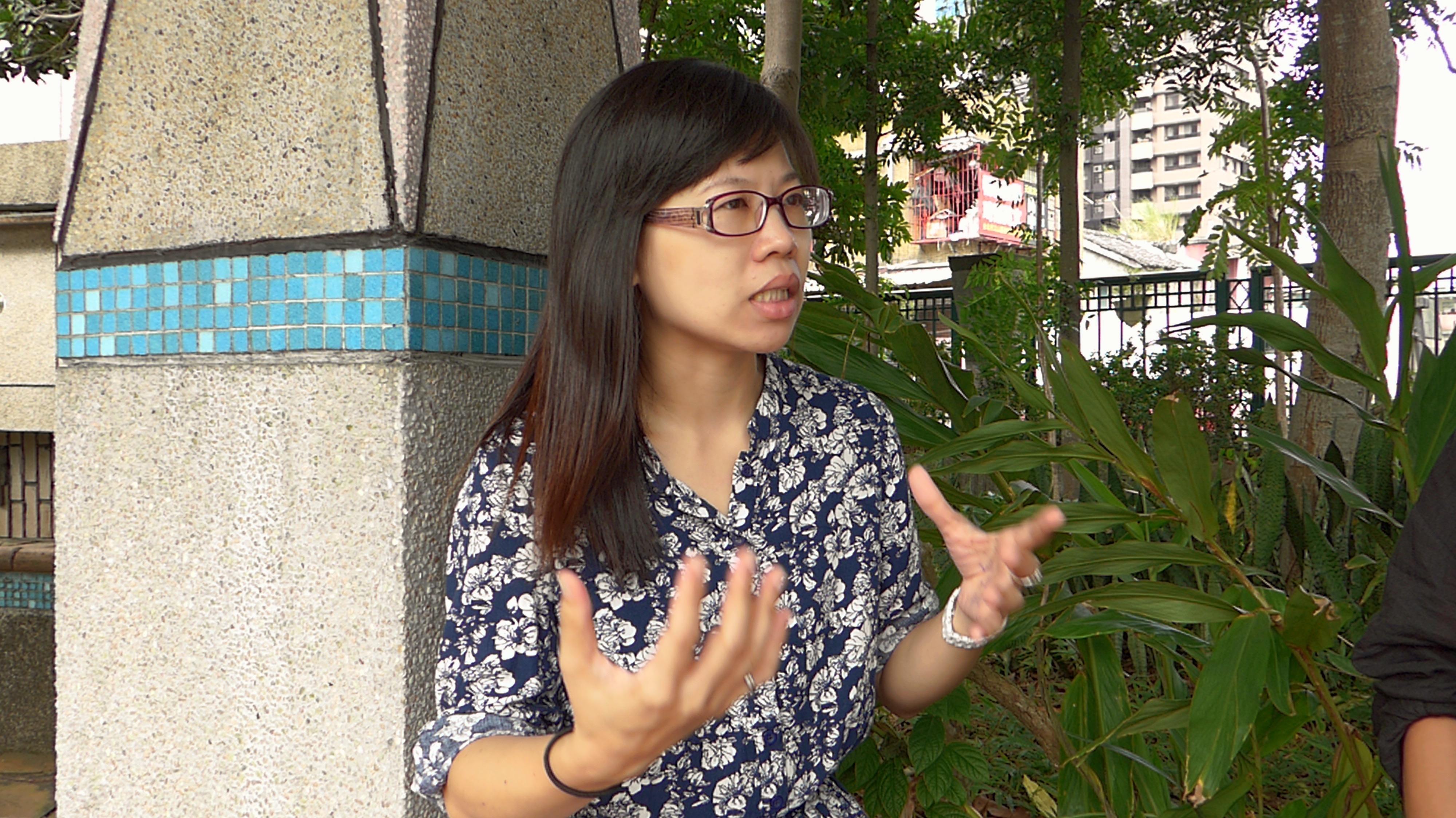 陳佩盈老師分享對與特教行業的理念