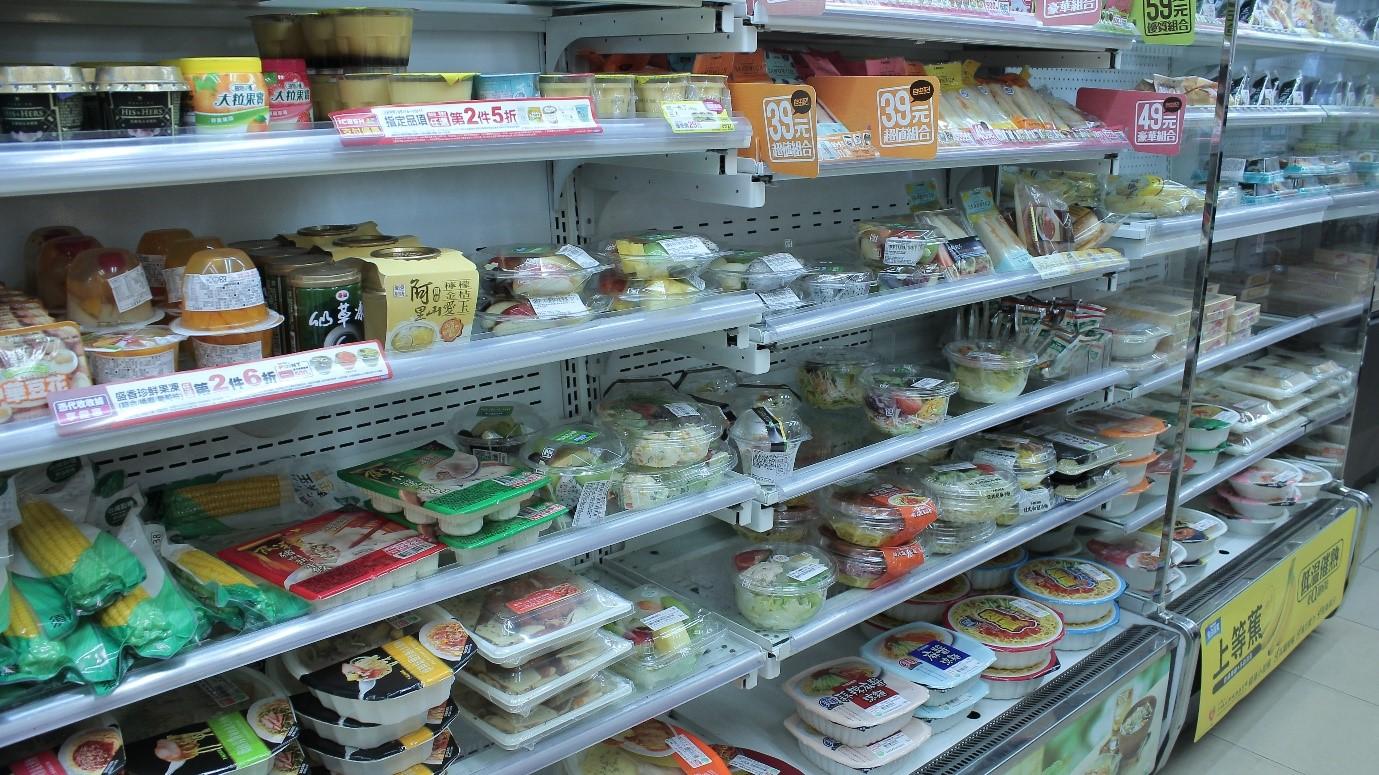 行政院主計總處調查結果顯示,食物類在7大消費者物價基本分類中漲幅最為明顯。 記者程怡靜/攝影