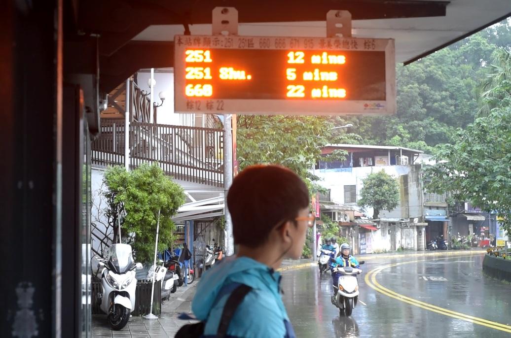 智慧城市能應用在交通上,為通勤族帶來便捷生活。攝影/黃俐禎。
