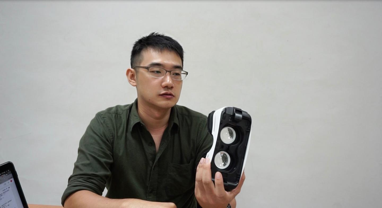 接力棒遊戲創意工作室執行長李與誠。(攝影/陳家柔)