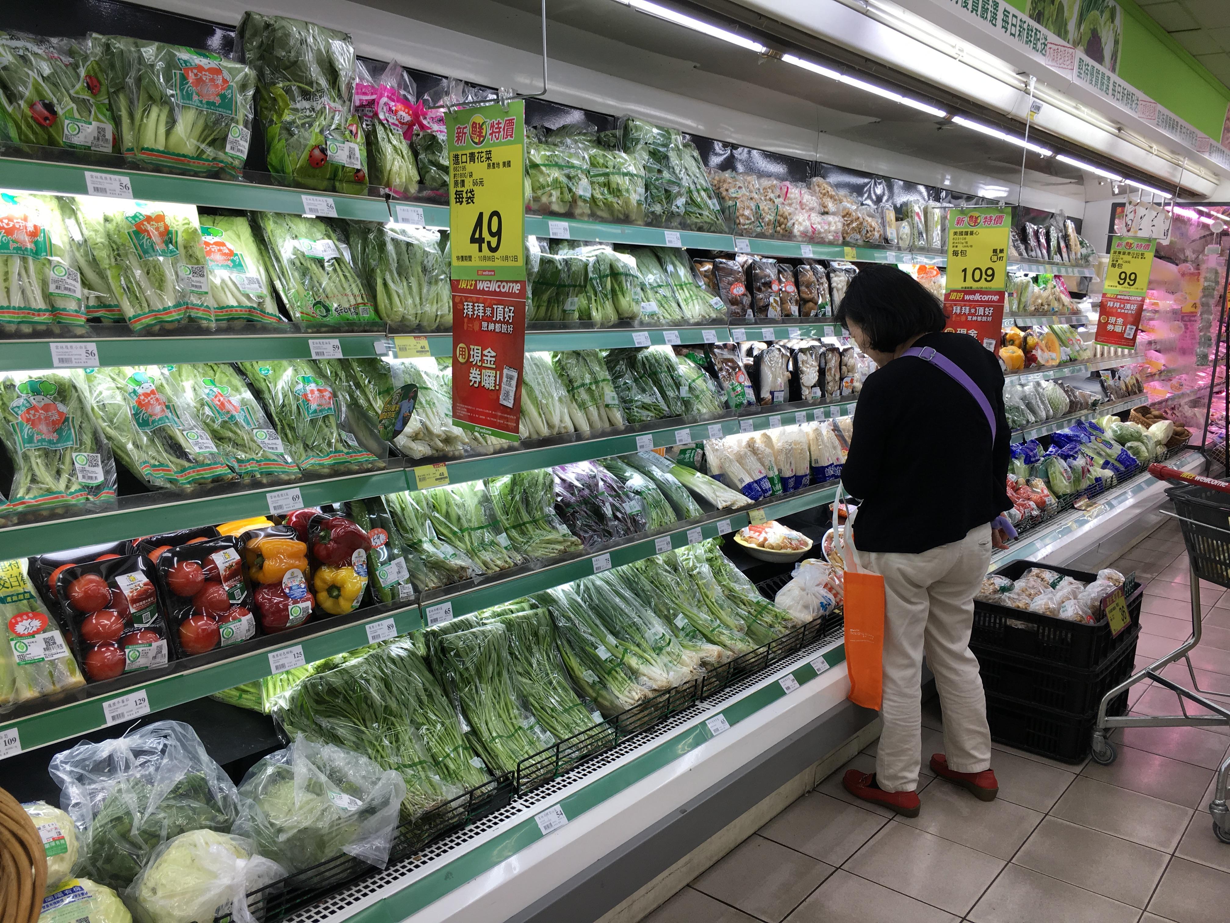 近年來素食文化成為飲食新趨向。攝影/林郁婷