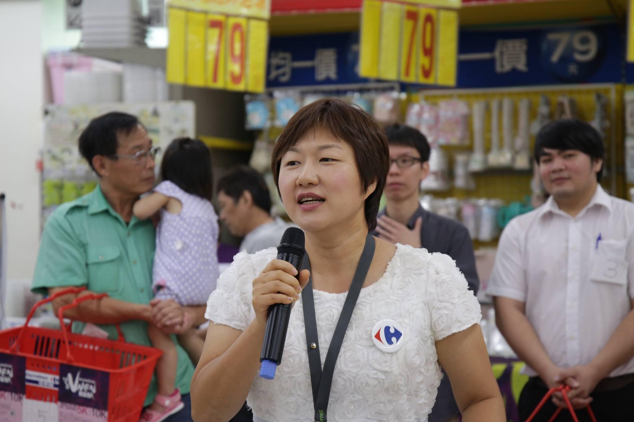家樂福公關經理何默真 攝影/劉羽恒