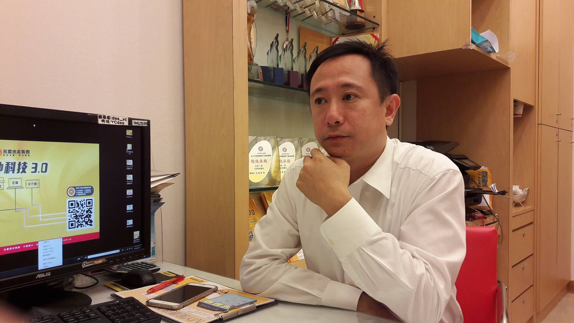 潘麒安給未來想買房的青壯年建議,看房時要留意格局與採光,以及附近環境的生活機能。 (攝影/程沛茜)