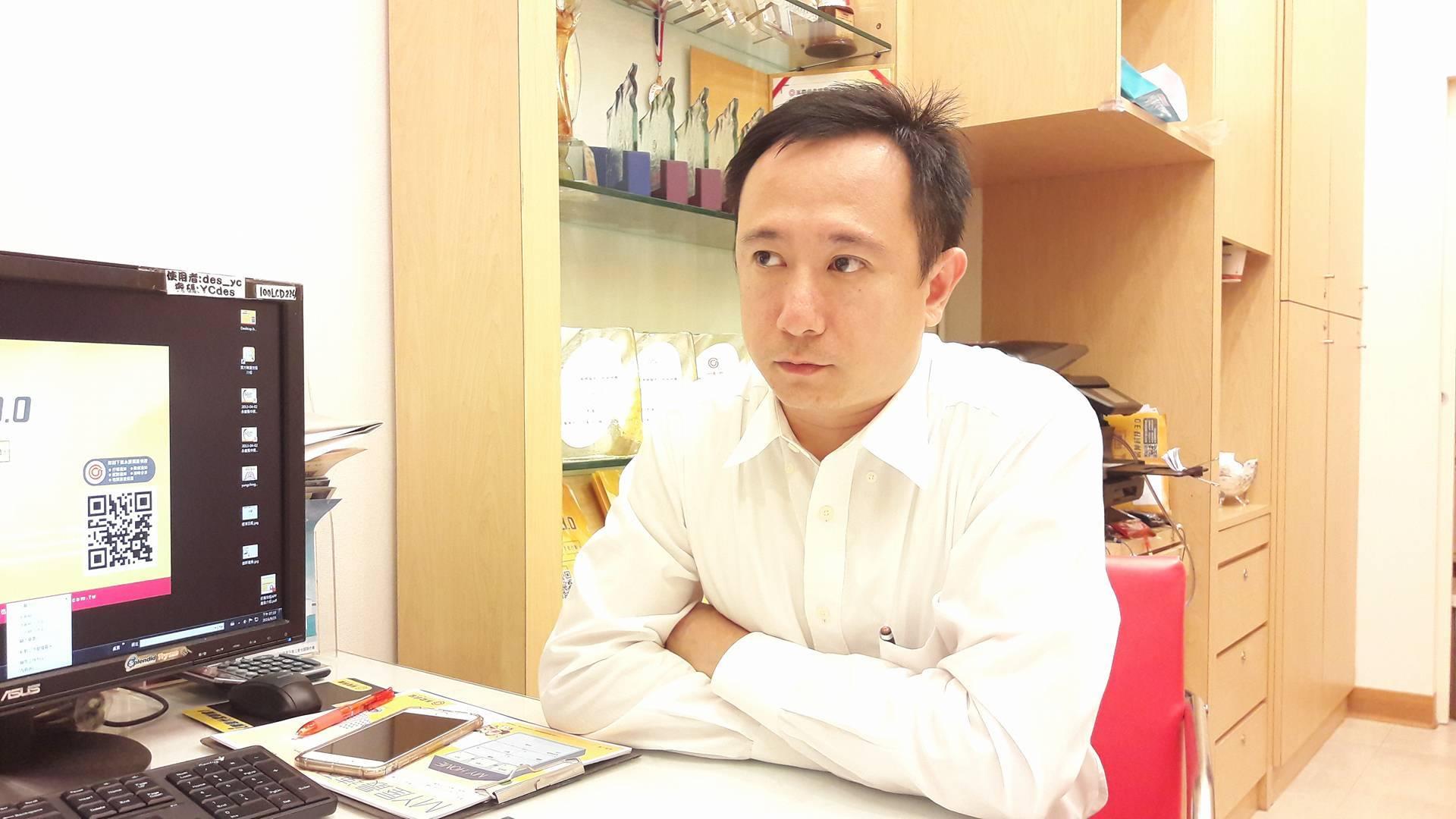 圖說:攝影/程沛茜 永慶房屋北投捷運直營店經理潘麒安認為租屋的人增加,可能是在觀望房價趨勢。