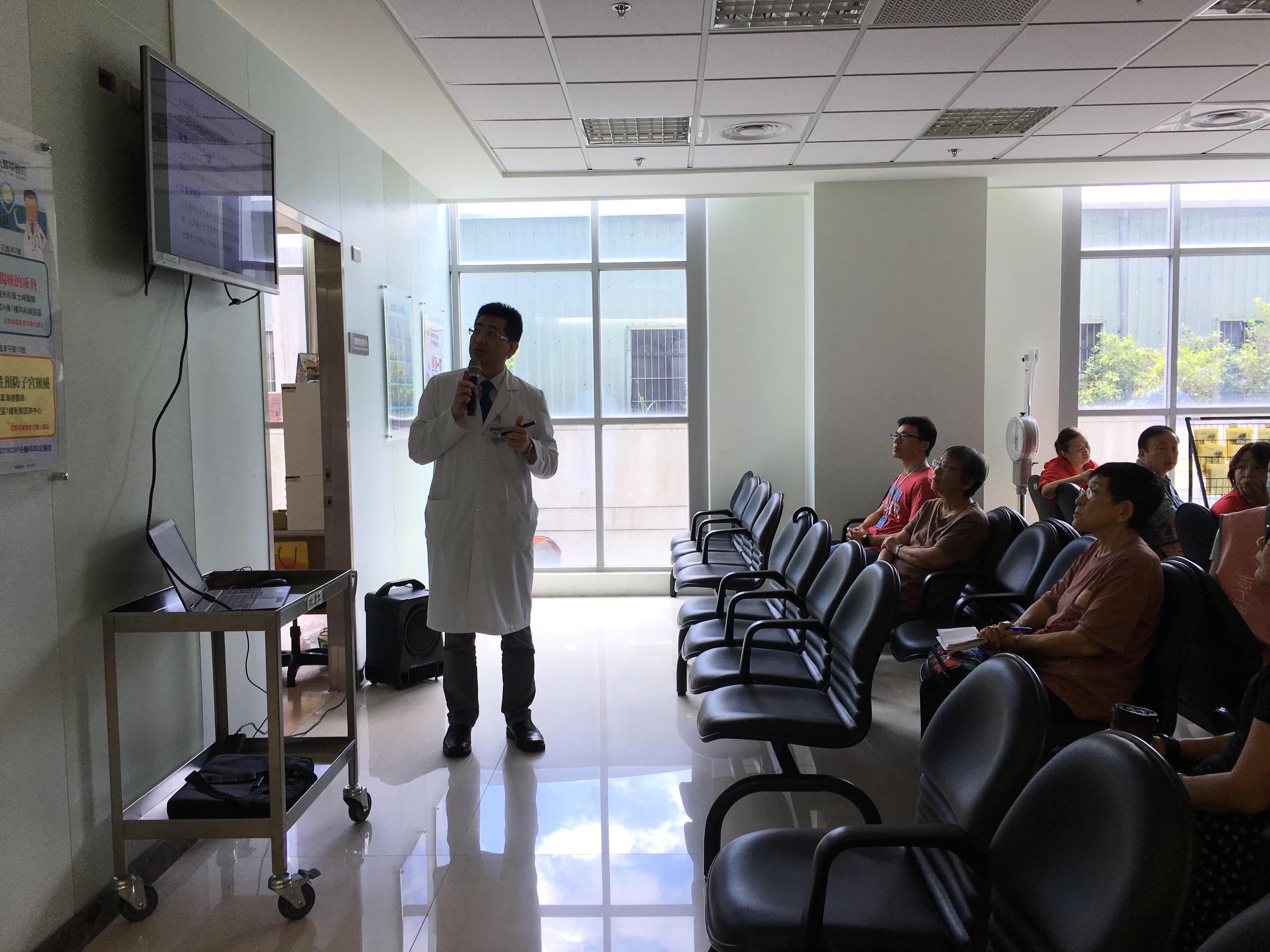 耕莘醫院19日於安康院區舉辦子宮頸癌防治講座。攝影/圖佳