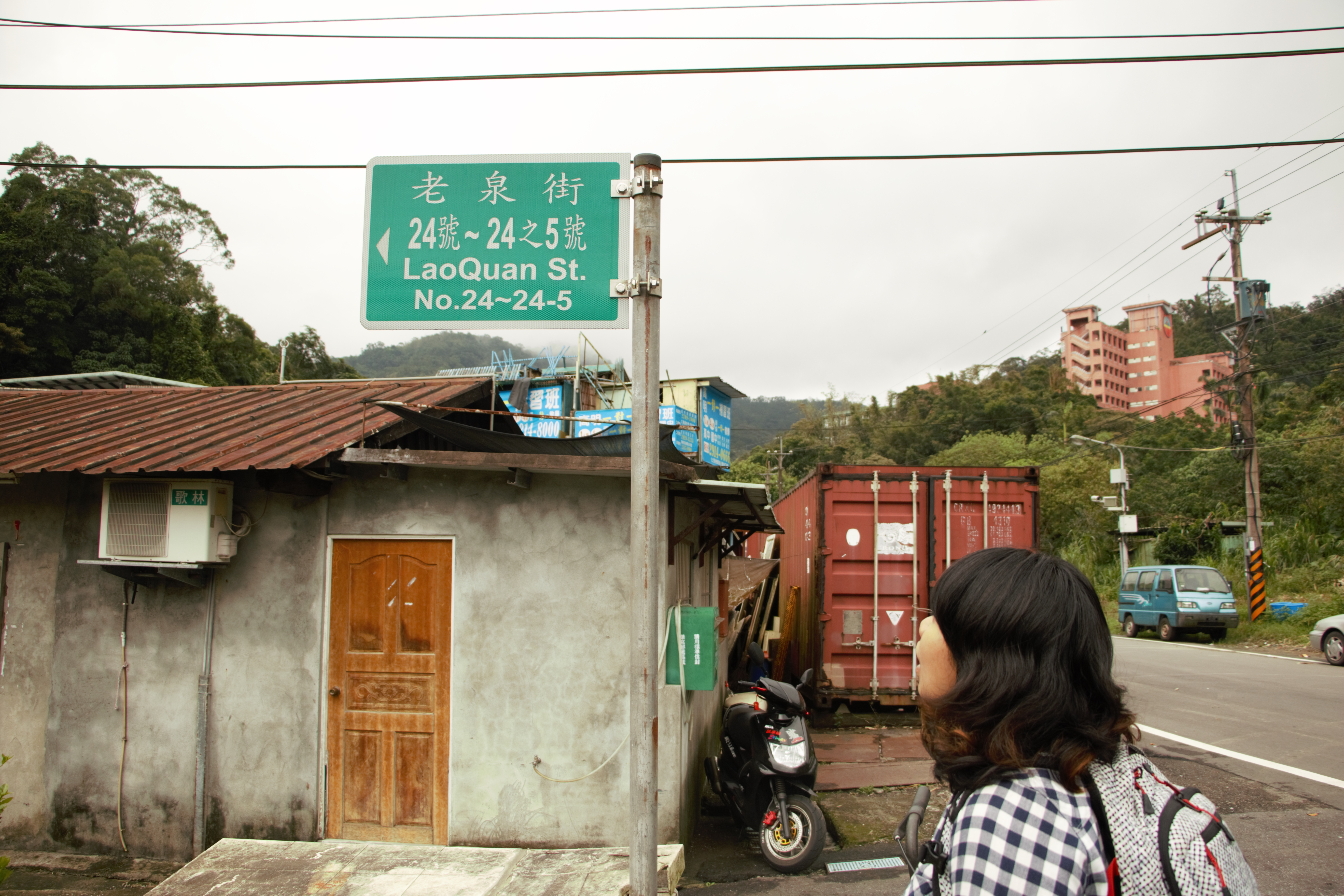 新設路標後,遊客更能清楚知道其所在地點。