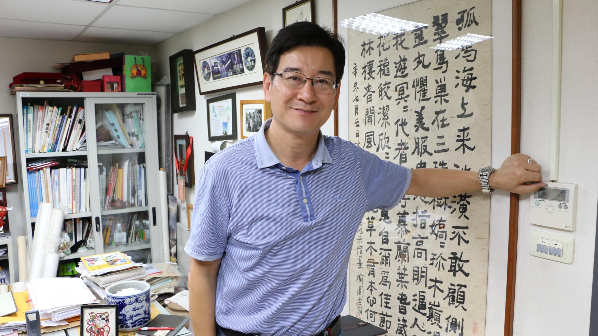 台北市議員李慶元。攝影/李芮昕