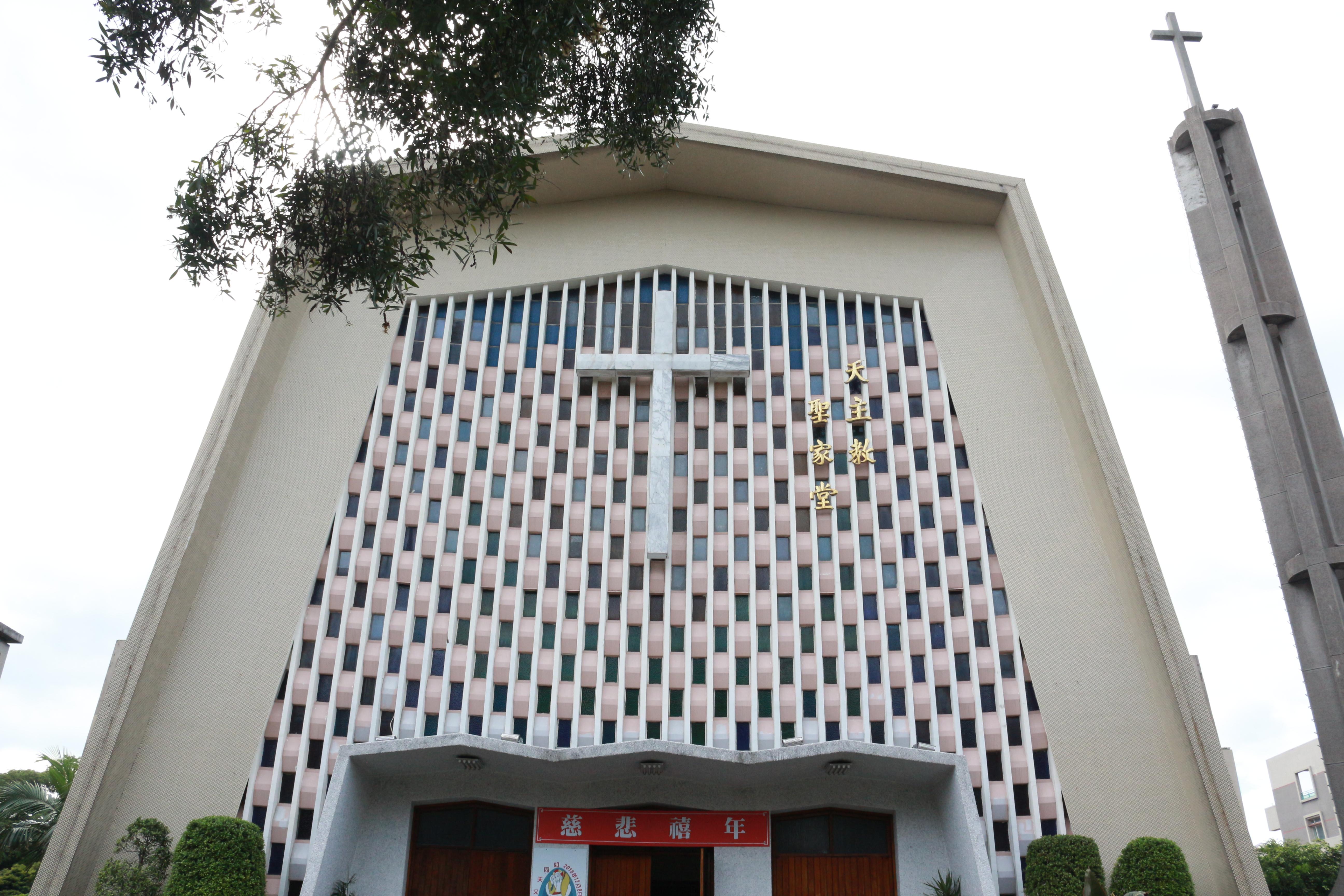 天主教台北聖家堂是台北許多天主教徒的聚會場所。攝影/莊立誠