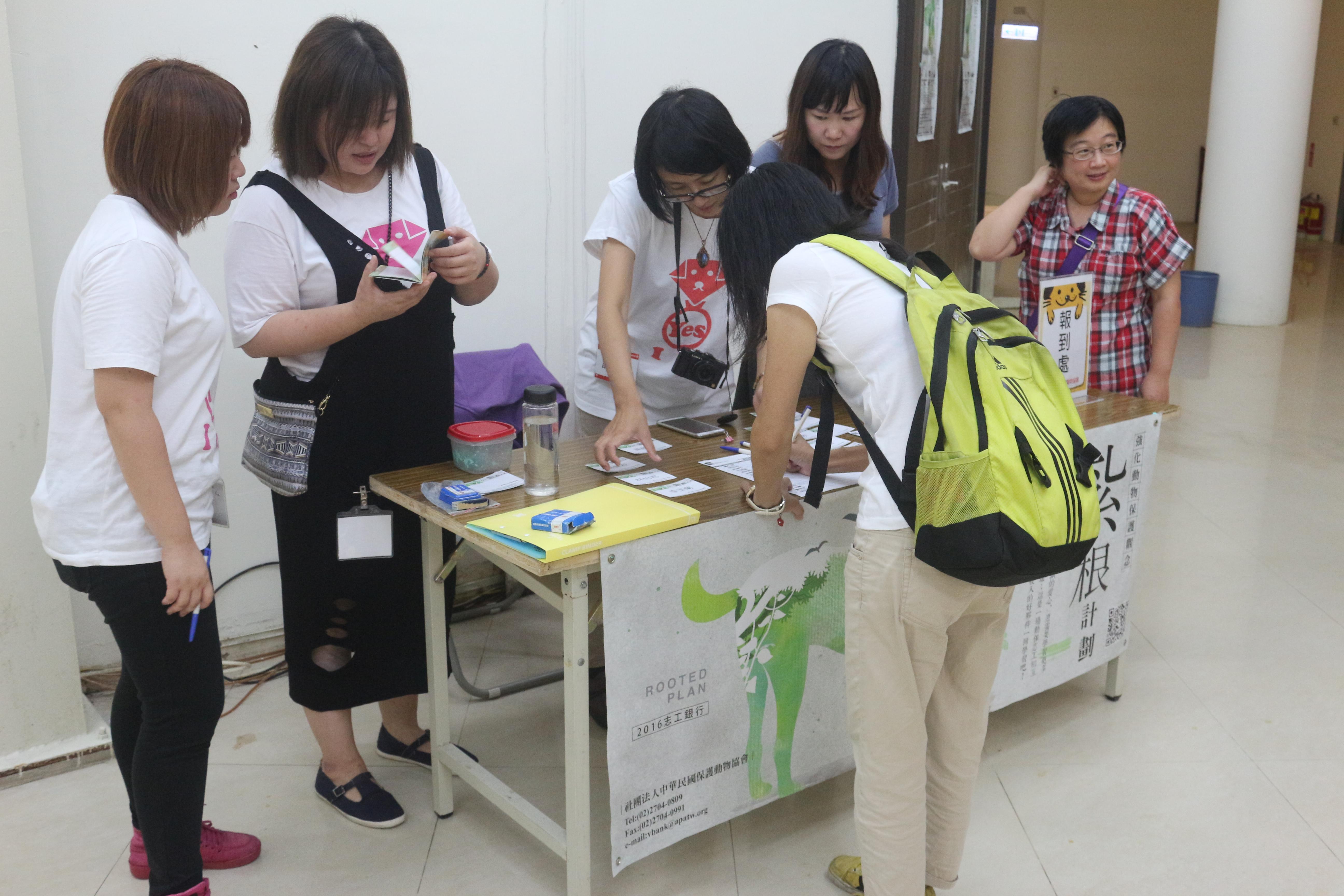 中華民國動物保護協會舉行動物保護觀念紮根計畫活動 攝影/吳冠輝
