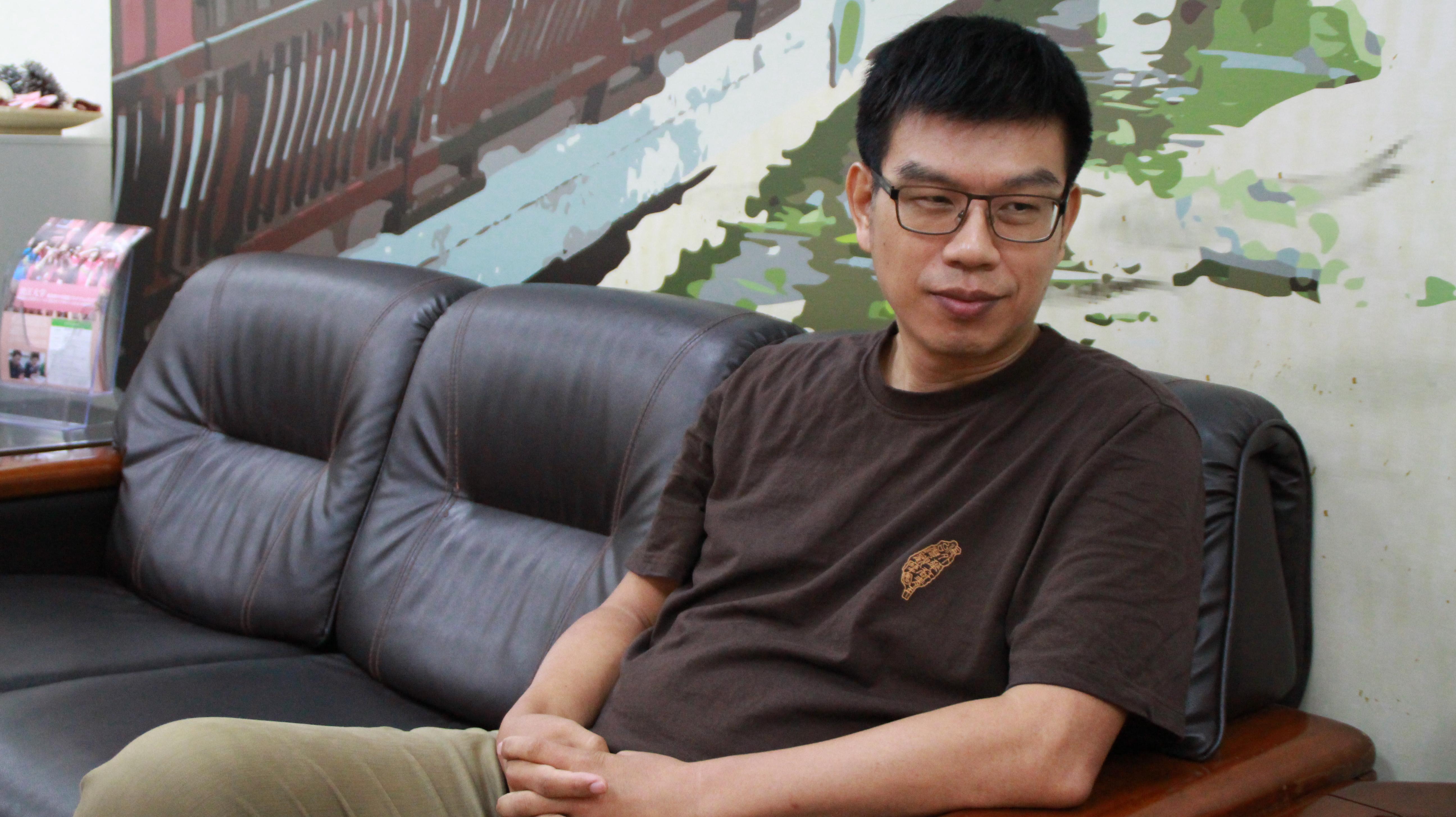 淡江華語文中心主任周湘華表示,期待透過政府力量台灣各地共同為華語文推廣努力。攝影/莊詠豪