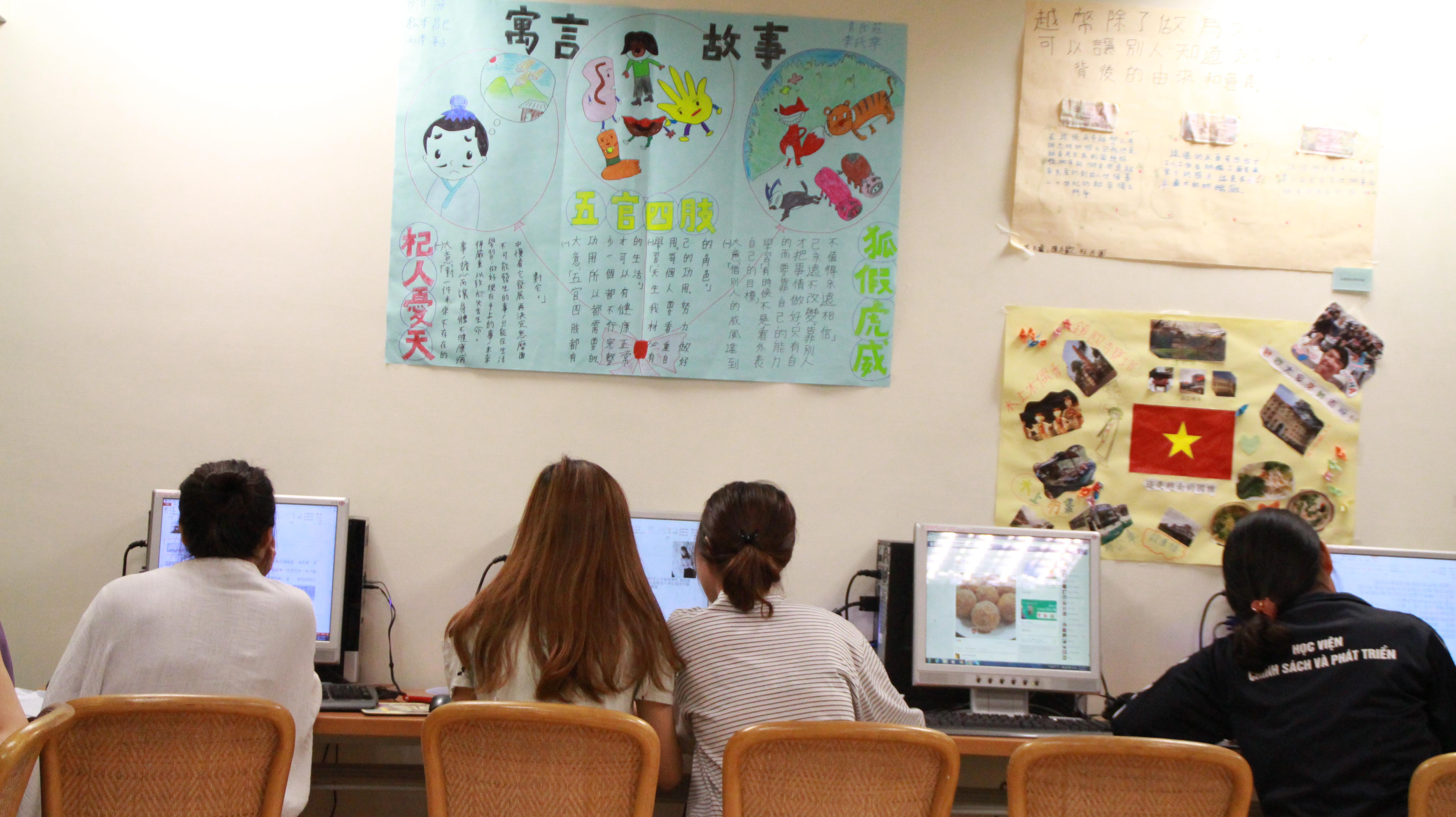 臺灣具有文化多元的華語學習環境及專業的華語教師,是建立海外品牌的重要力量。攝影/莊詠豪