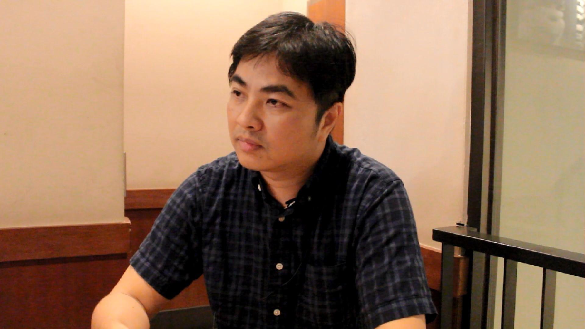 台北市汽車駕駛員職業工會理事長鄭力嘉坦言,若Uber願接受法規約束,他絕對贊成Uber 進入台灣的計程車市場公平競爭。攝影/程怡靜