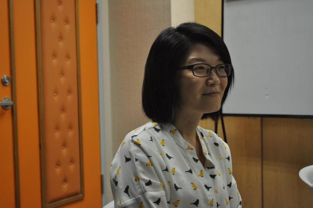 國立臺灣大學教學發展中心學習促進組副組長石美倫博士