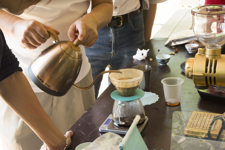 景美咖啡園種植咖啡,皆經過品質把關。攝影/楊智伃