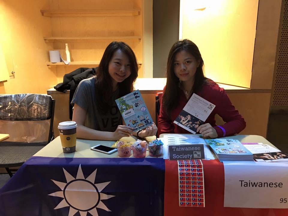Lilliana Liu(left),the president of the LSE Taiwanese Society.