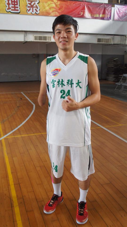 在球隊中,范弘昊總會被教練與隊友作為例子,激勵其他隊員。 圖片提供/范弘昊