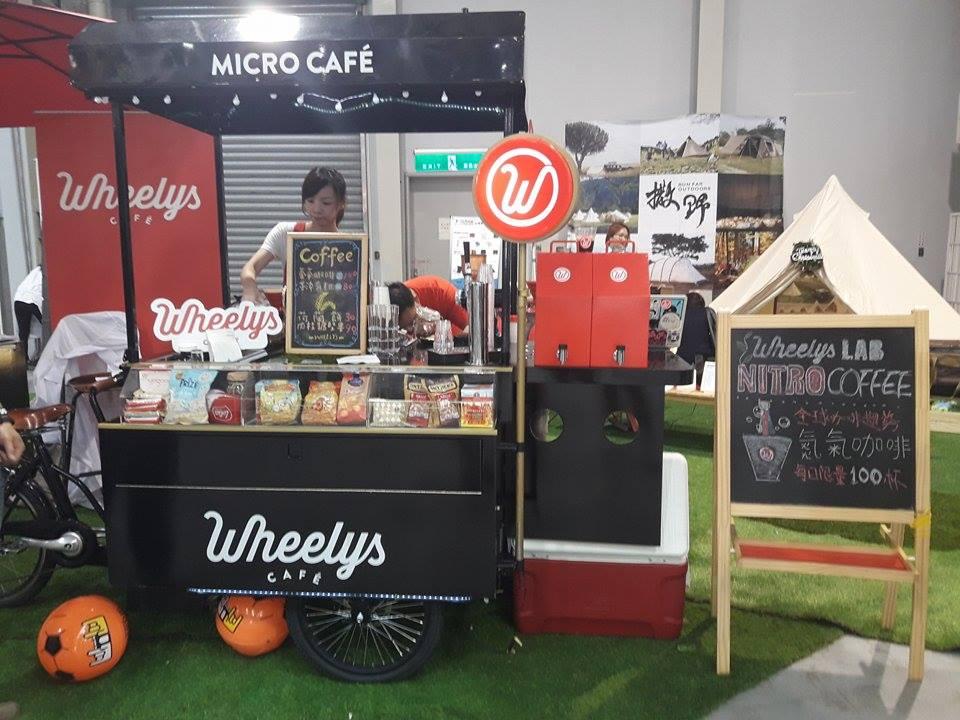 Wheelys LAB NITRO COFFEE 新創業者認為,嘉年華會促進許多良好意見的交流。攝影/黃晴