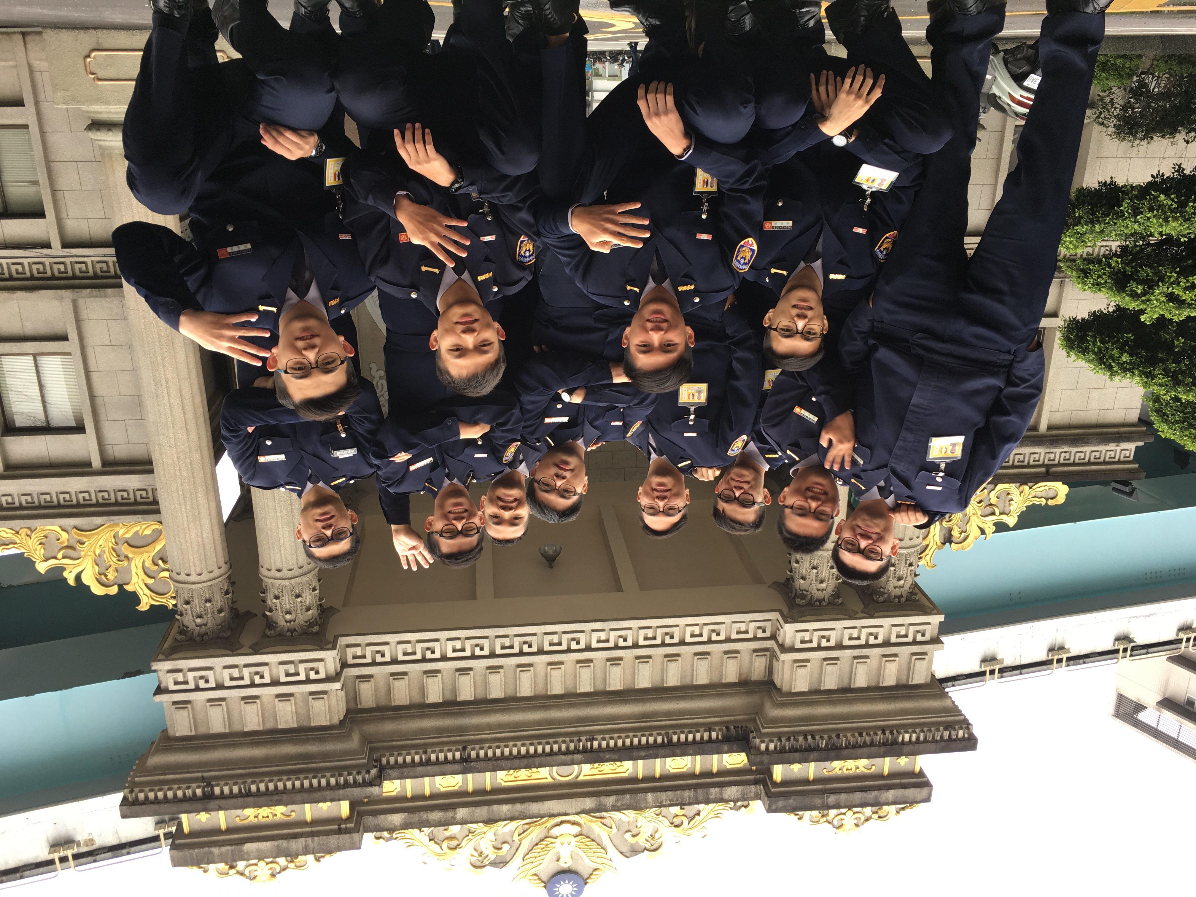 江陵派出所新進員警吳嘉偉坦言,警專生活令人想念。照片來源/吳嘉偉提供