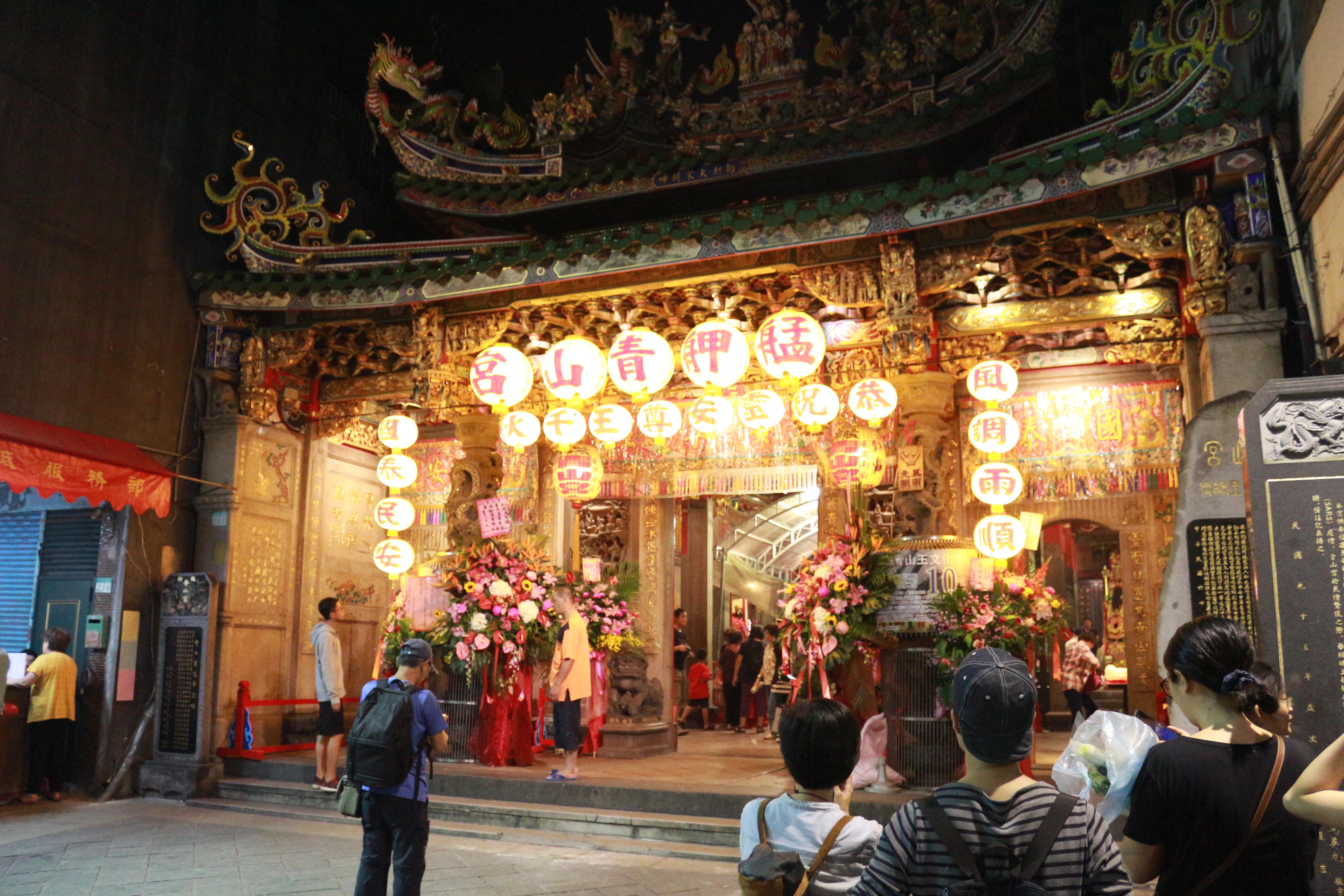 青山宮已有160餘年的歷史,迄今仍香火鼎盛保有其不可被取代的地位。攝影/莊立誠