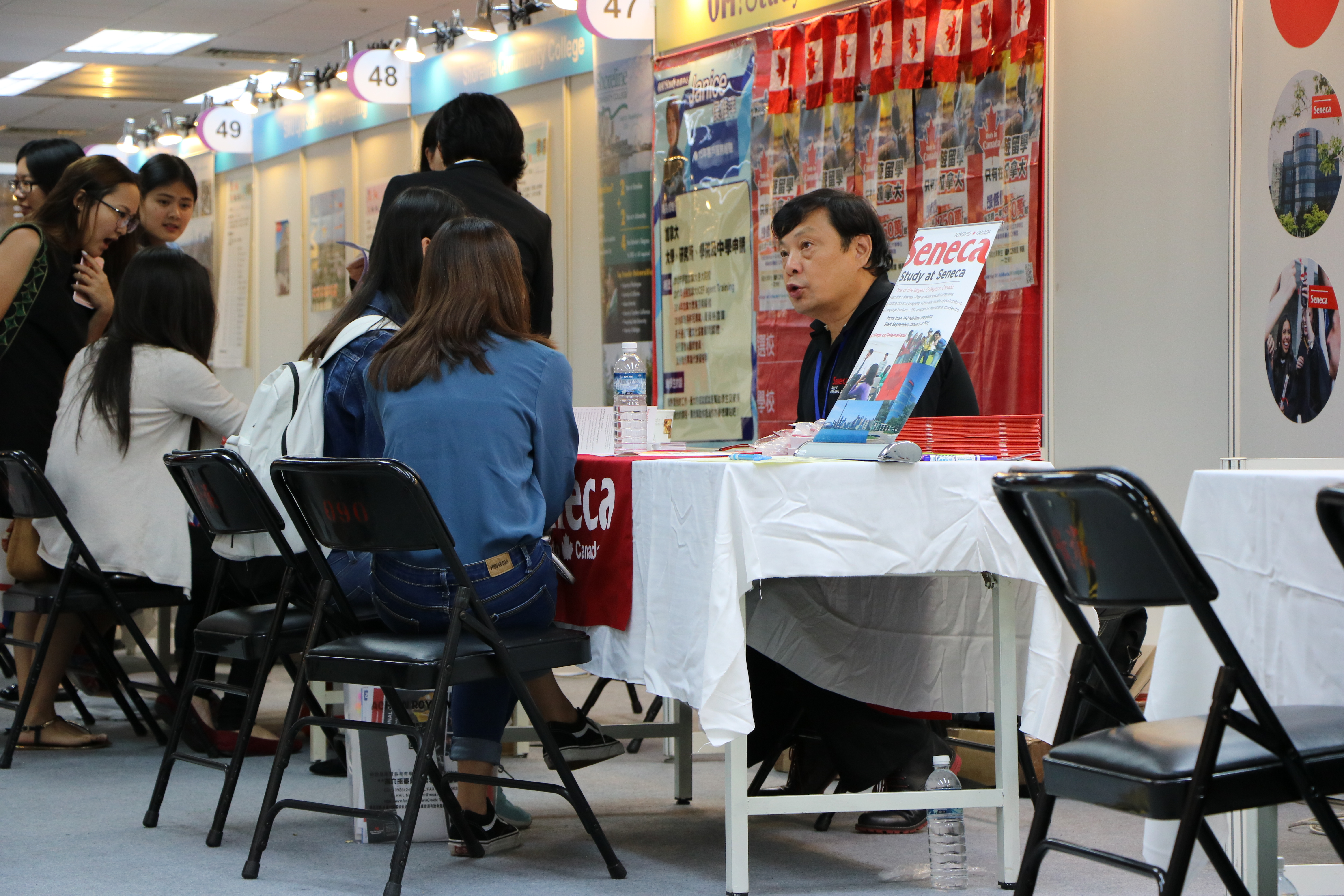 Photo/ Tsou, Fang-ting People are consulting.