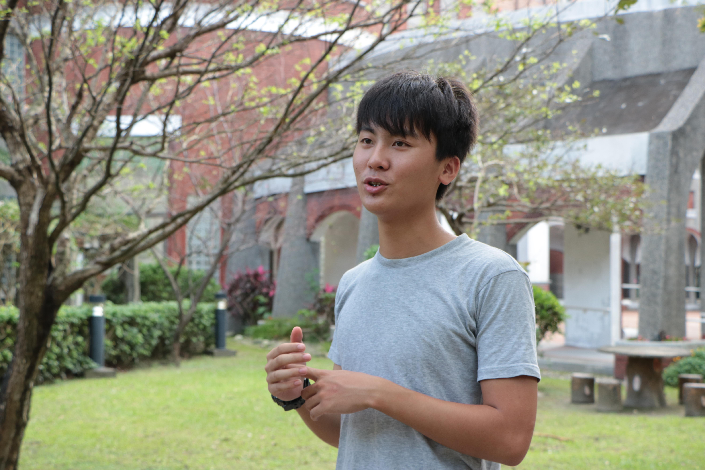 Photo/ Tsou, Fang-ting Chen, Chun-jen (陳俊任) is talking about his plan.