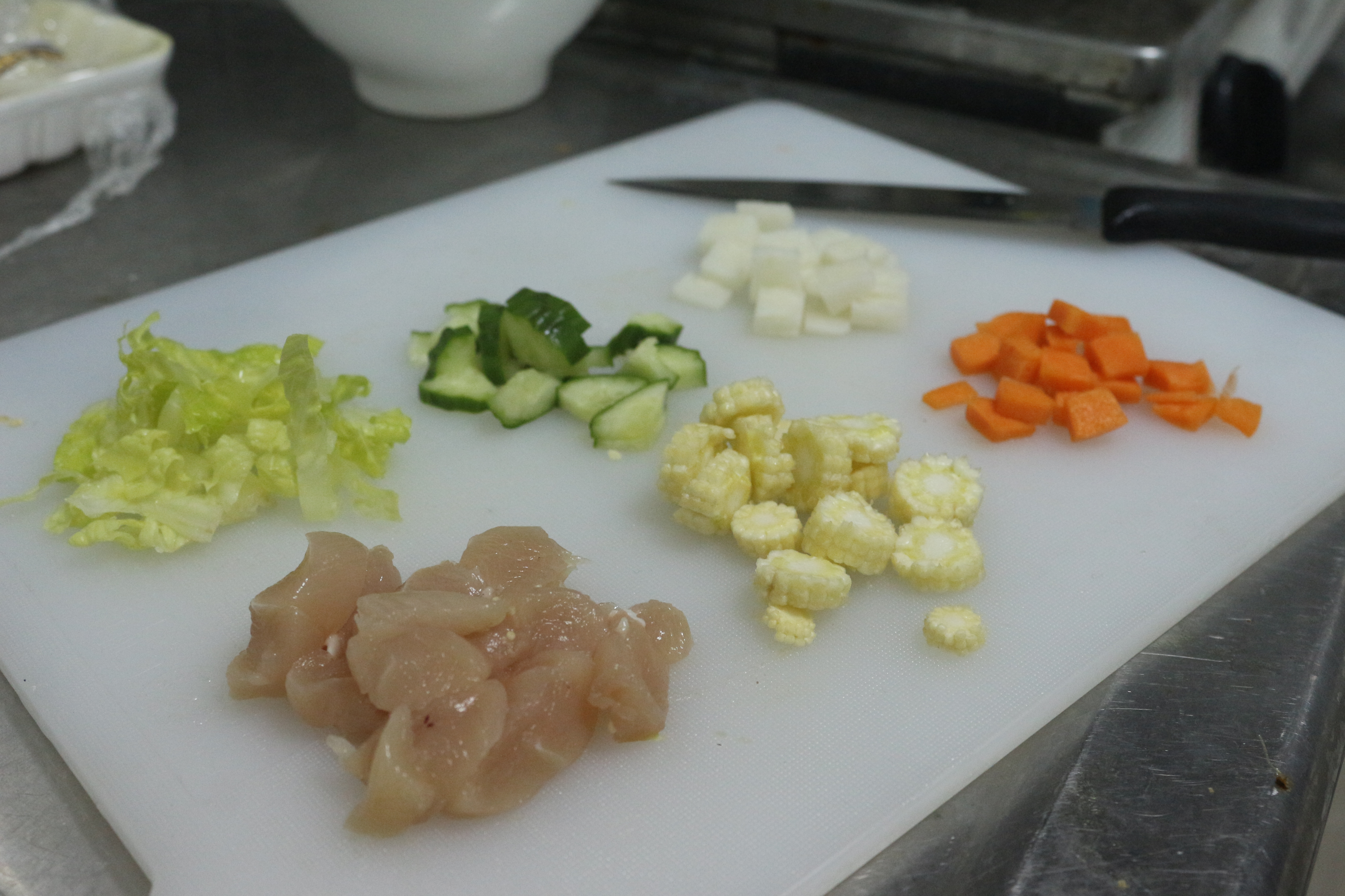 鮮食料理所使用的食材。 攝影/吳冠輝