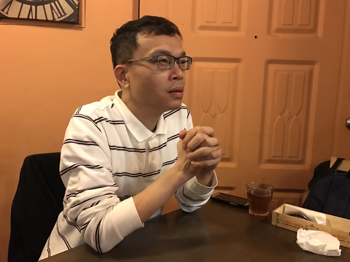 IBM大中華區全球科技服務部風險管理經理陳秋男說明數位經濟 攝影/陳祈安