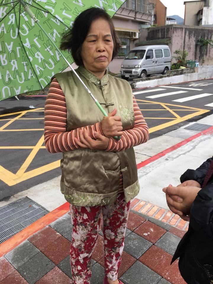 居民蔡小姐覺得這裡規劃得很好。攝影/劉蕙瑀