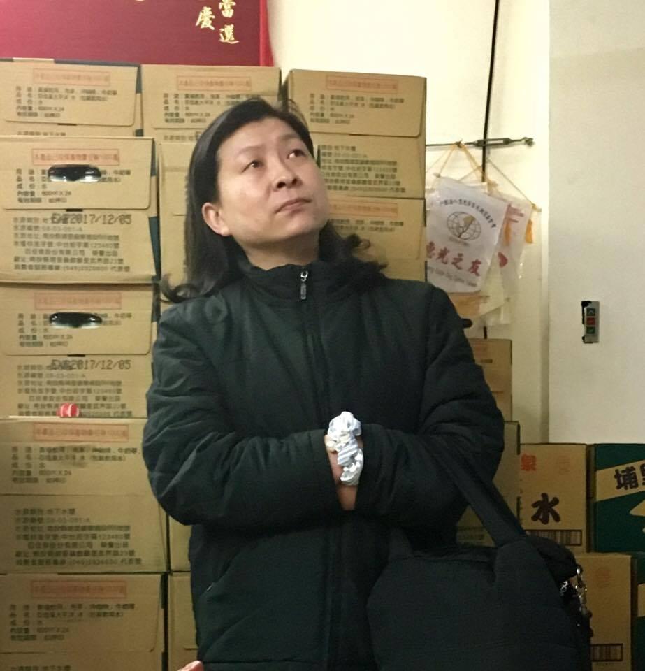 民眾蔡小姐認為,如果能求助專業的律師,她的權益才能免受侵害。攝影/劉蕙瑀
