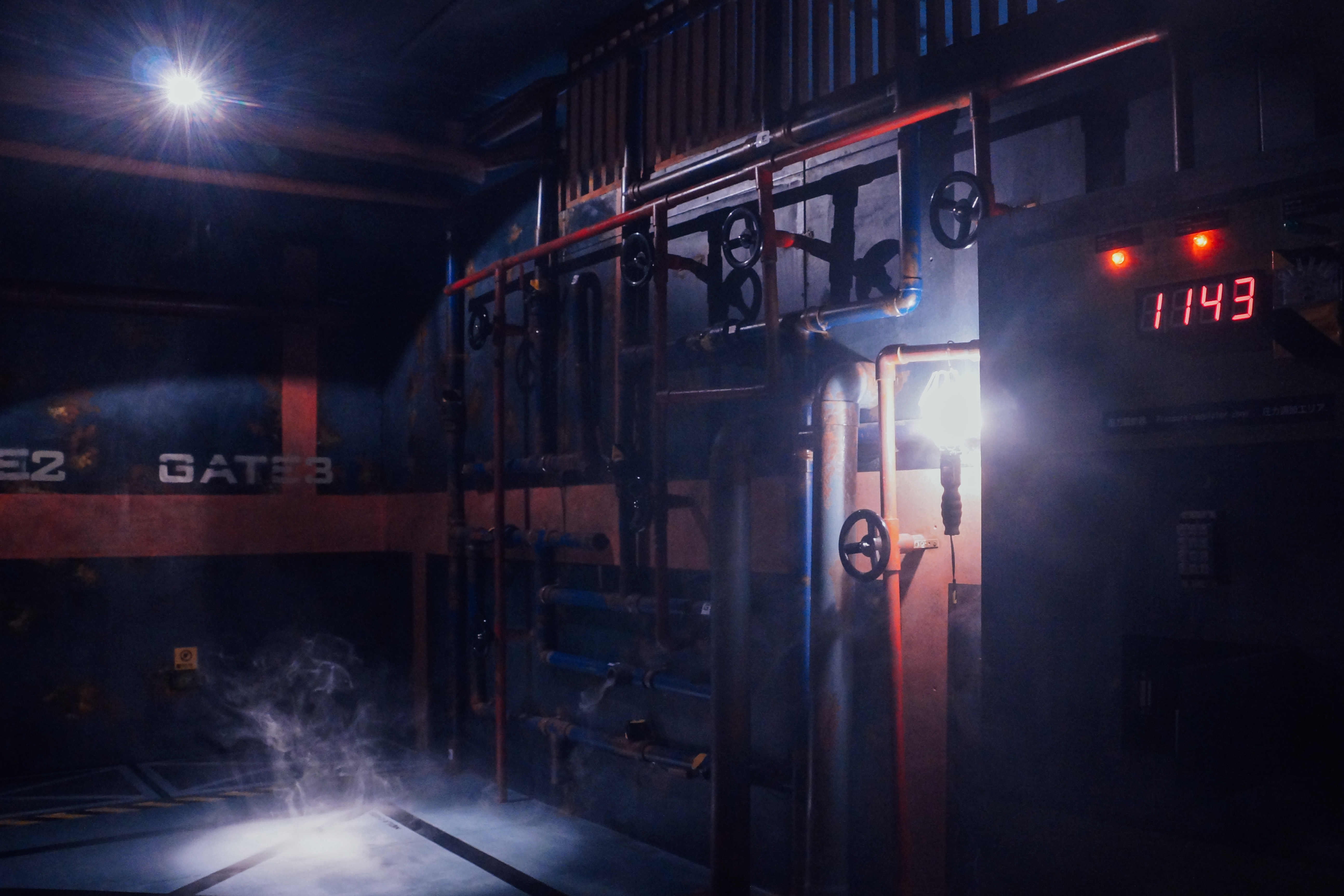 密室逃脫逼真的場景讓玩家身歷其境。攝影/潘姿穎