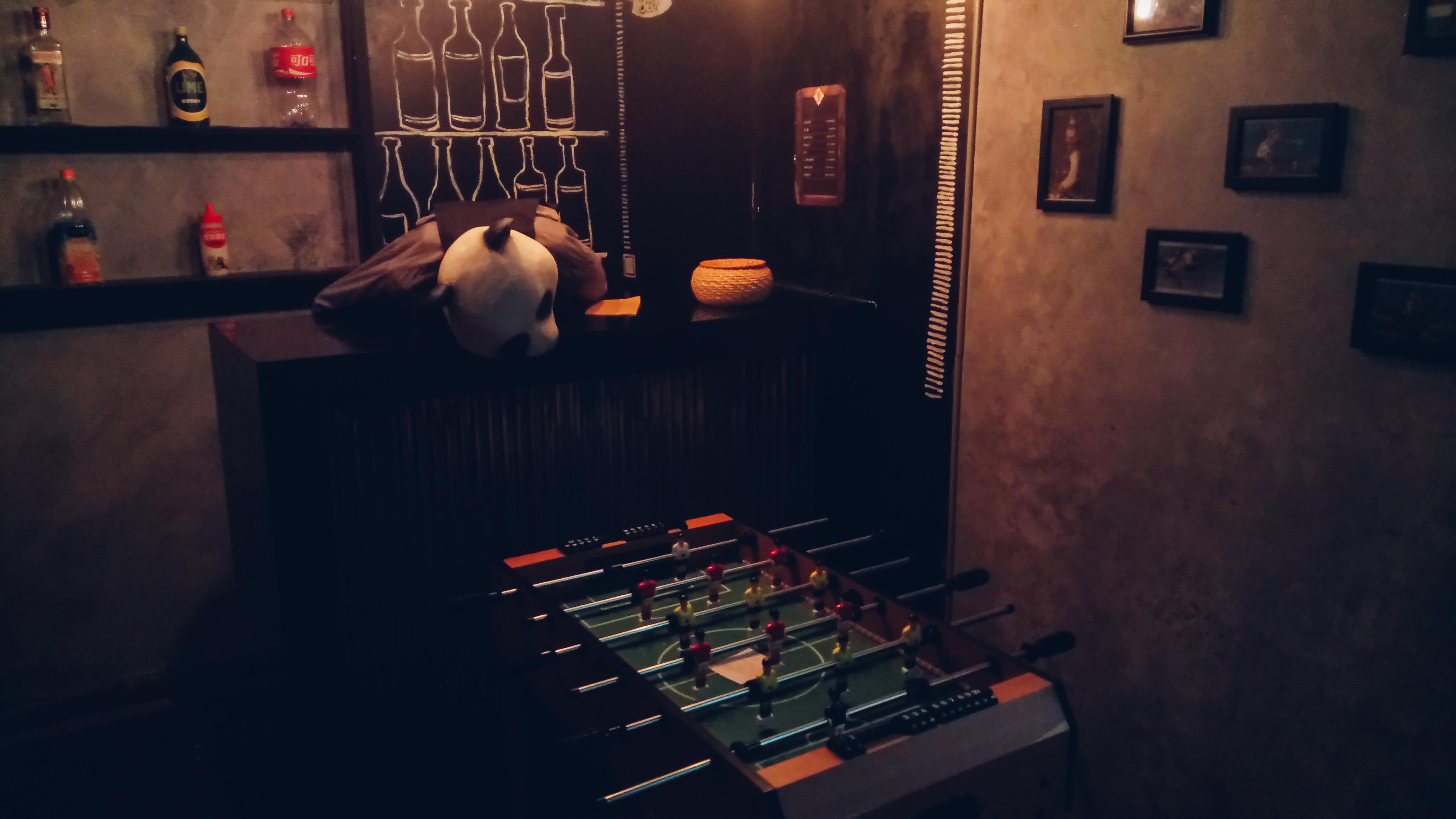 實境密室逃脫遊戲場景。攝影/潘姿穎