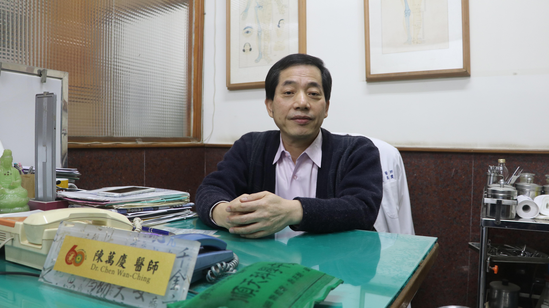 中醫診所院長陳萬慶醫師提醒,食補前宜詢問專業醫師。 攝影/李玟逸
