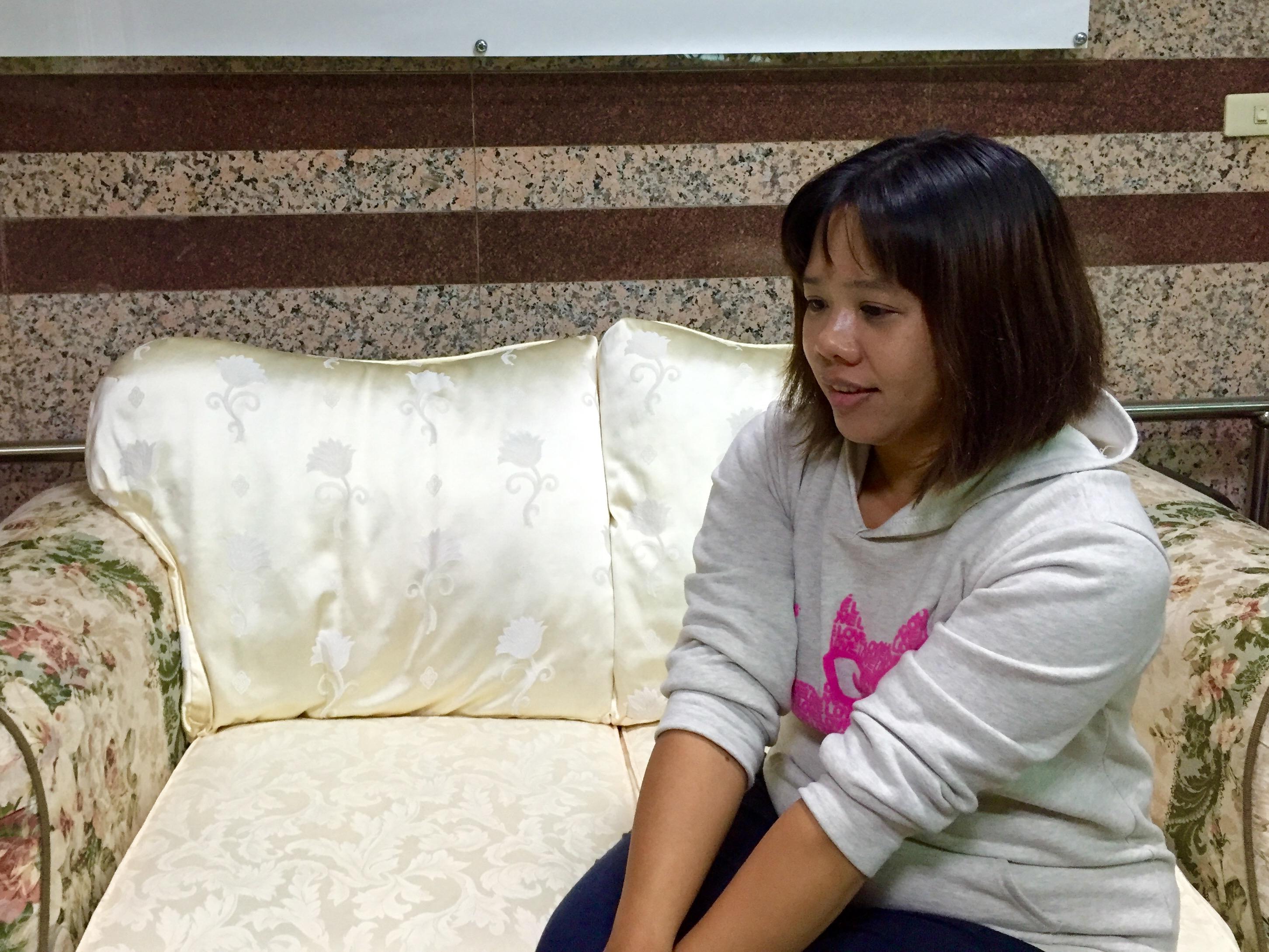 陽小姐表示,照顧失智長者不是容易事。攝影/布子如