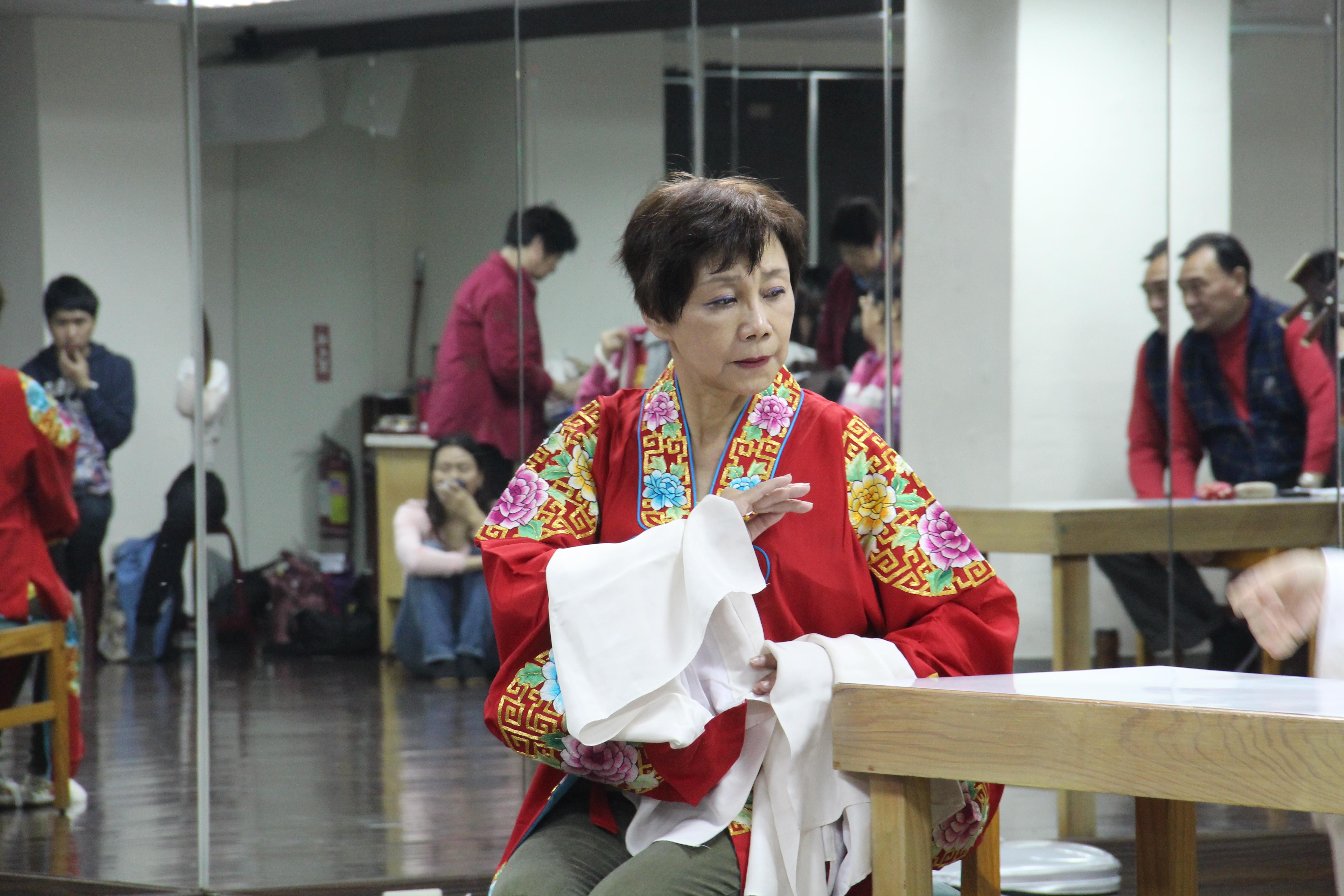 應平書是台北崑劇團的創辦人,長期致力於推廣崑曲文化。