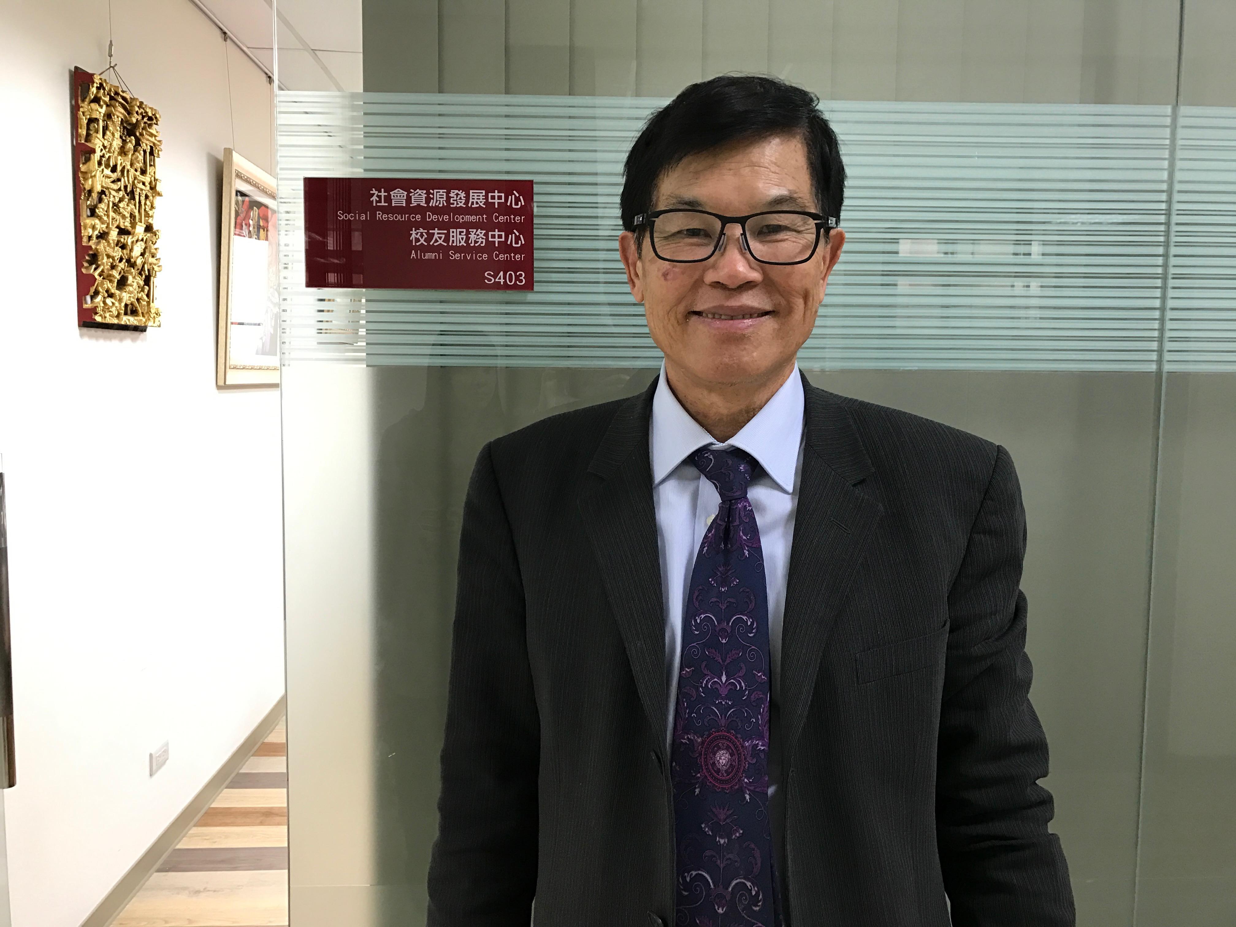 畢業於世新大學公共關係的謝雷諾,出任社會資源發展中心執行長。攝影/高凡淳
