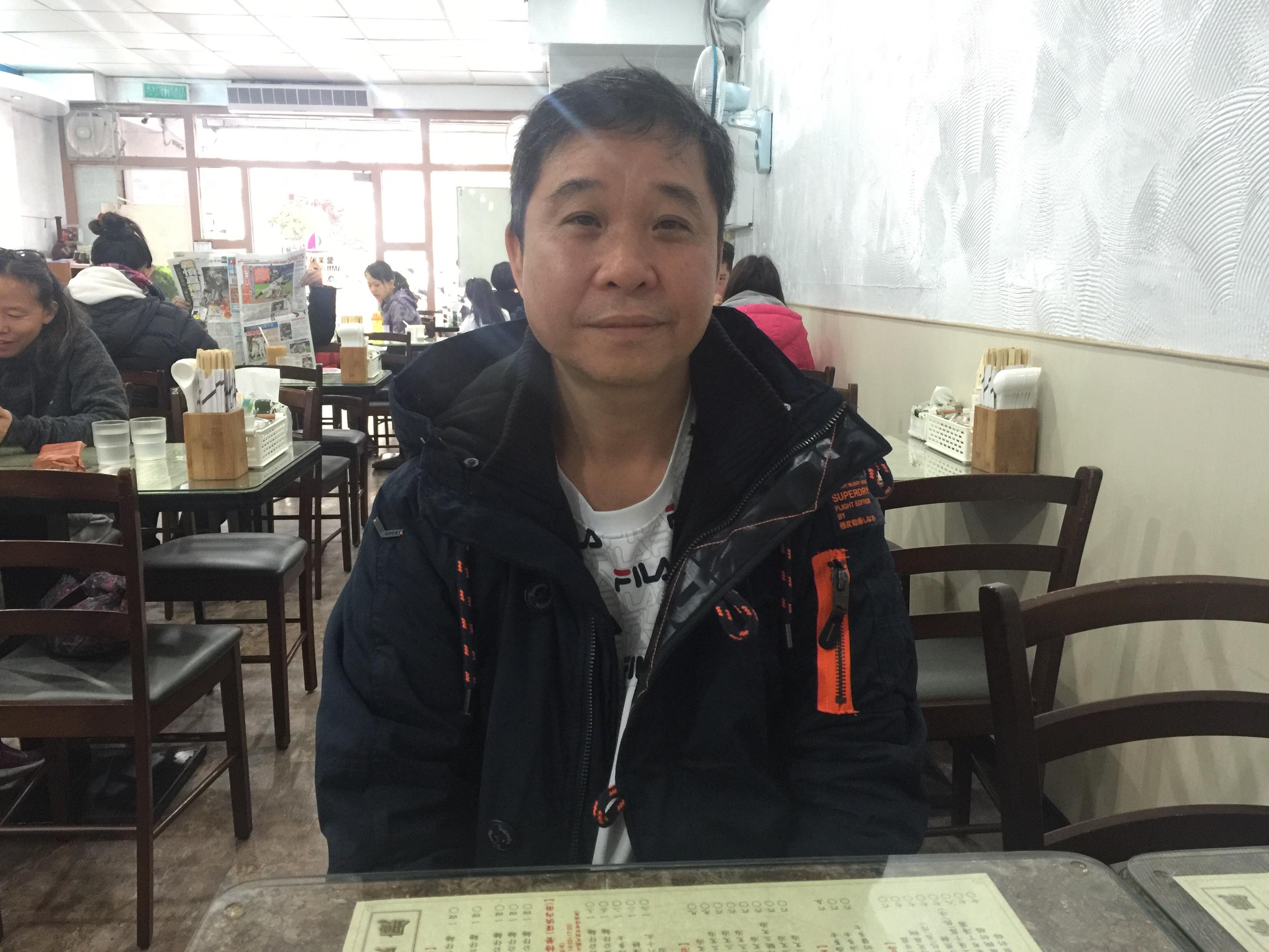 鑫華茶餐聽創辦人郭坤明。攝影/蘇蓉