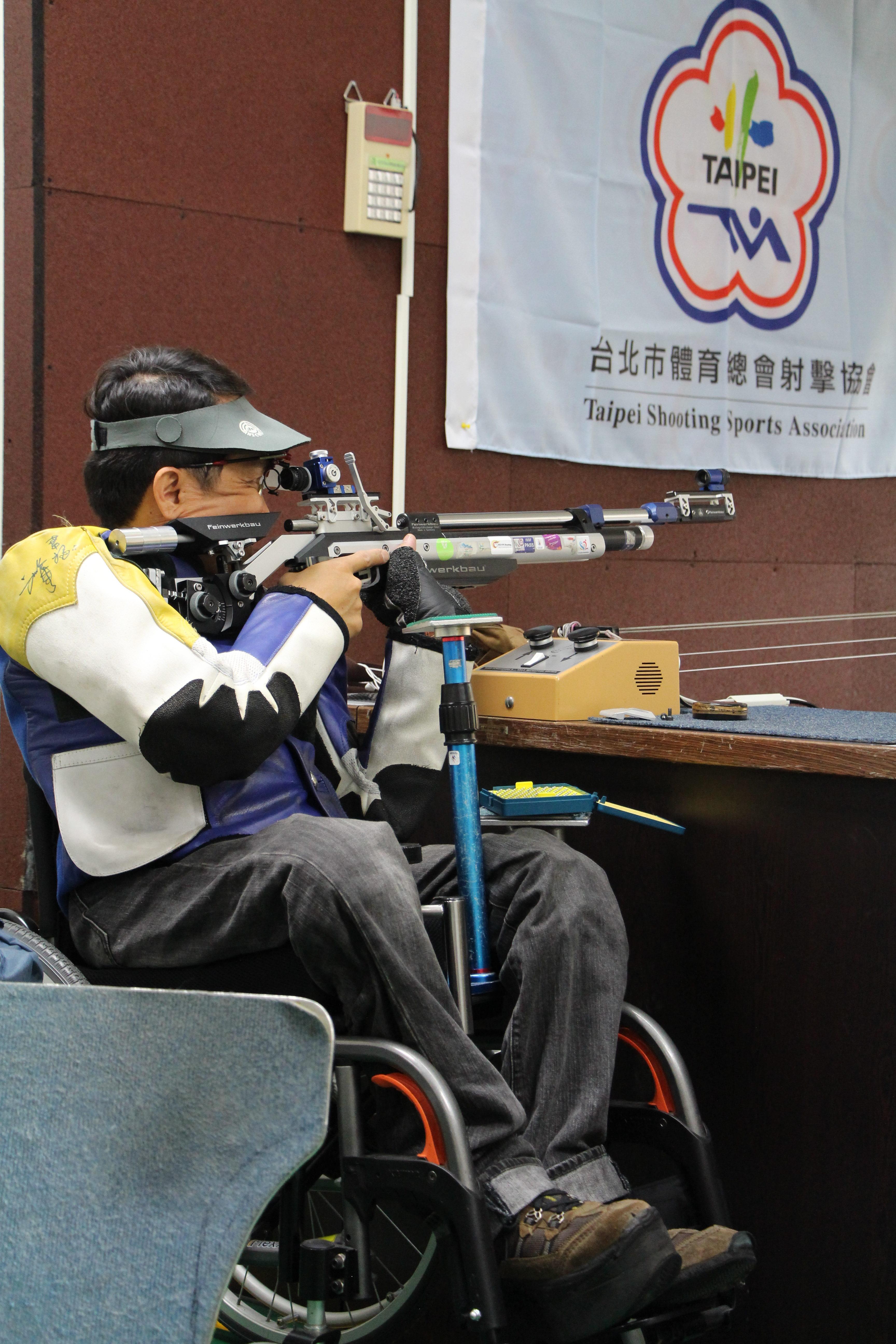 新增槍枝將提升選手權益,使其擁有更趨完善的訓練。攝影/黃馨毅