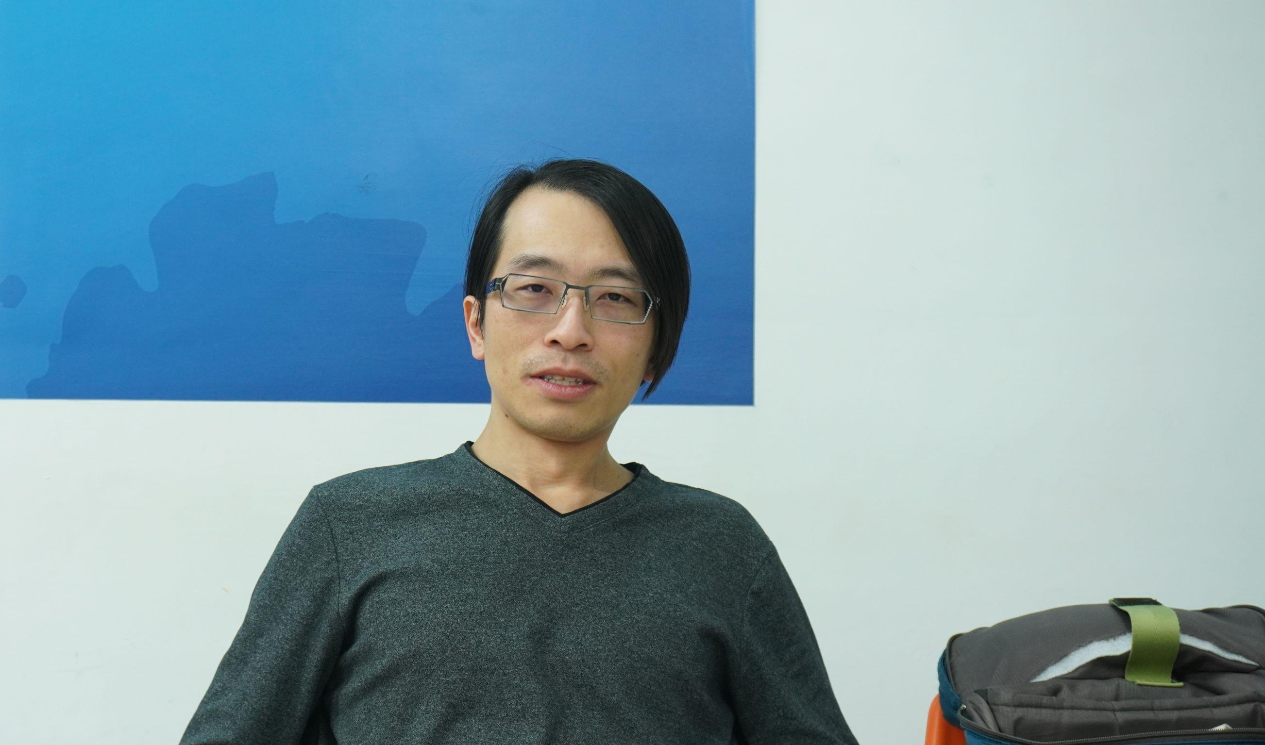 ▲Mozilla臺灣社群負責人Irvin Chen暢談台灣未來數位發展。攝影/彭 宬