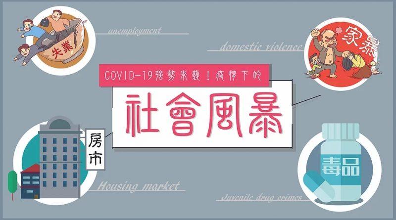 COVID-19強勢來襲!疫情下的社會風暴